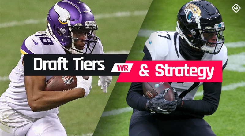 Fantasy Football WR Tiers 2021: Wide receiver rankings, draft strategy